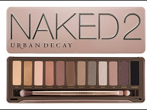 Naked 2 Routine make up InkedGeek