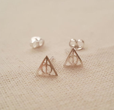 Harry Potter Stud Potterhead - Deathly Hollows