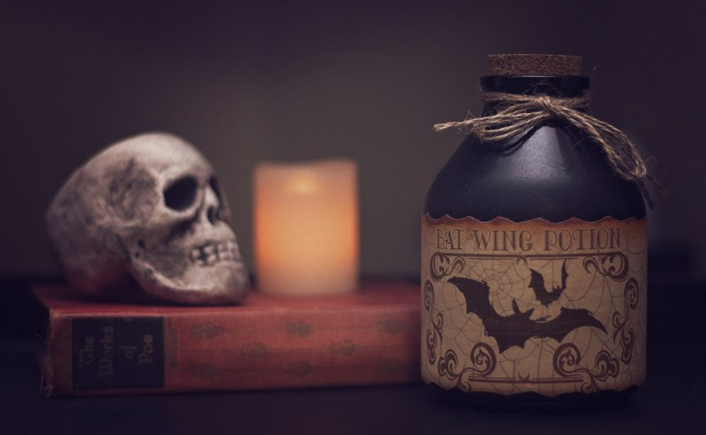 Halloween is coming potion magie revisitée